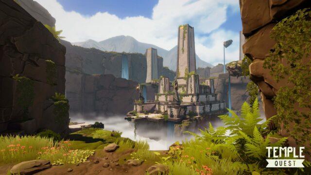 VEX Solutions gir opplevelser for hele familien, spill Temple Quest og utforsk et tempel